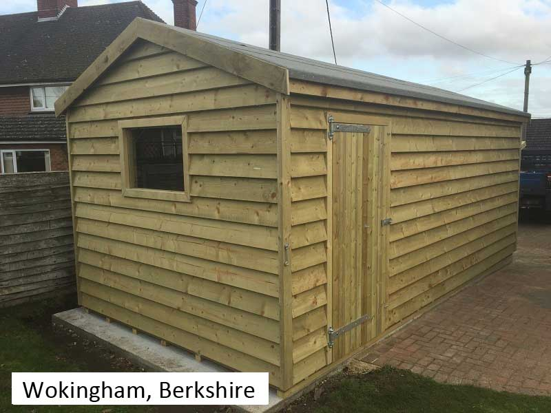 Premium Timber Workshop In Wokingham, Berkshire