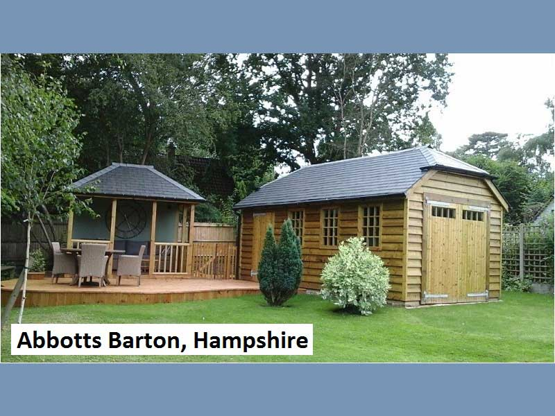 Traditional Garage In Abbotts Barton, Hampshire