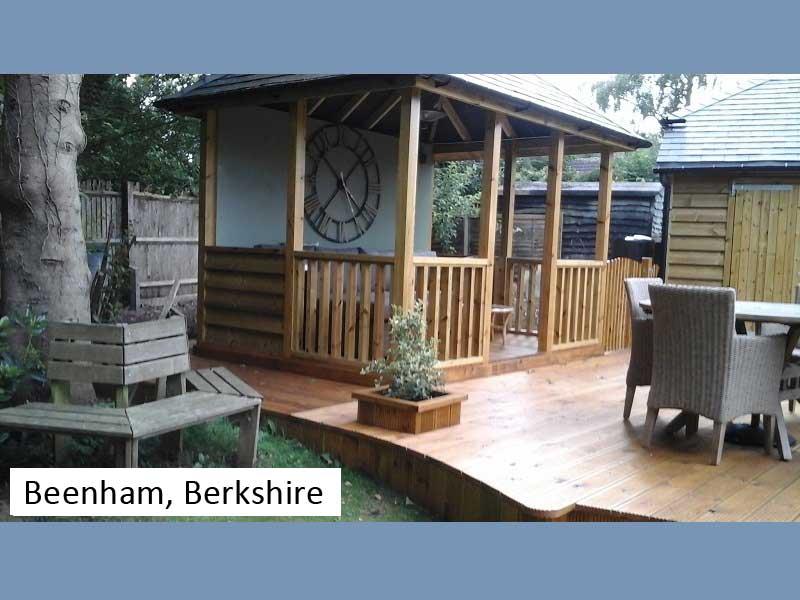Traditional Garage In Beenham, Berkshire