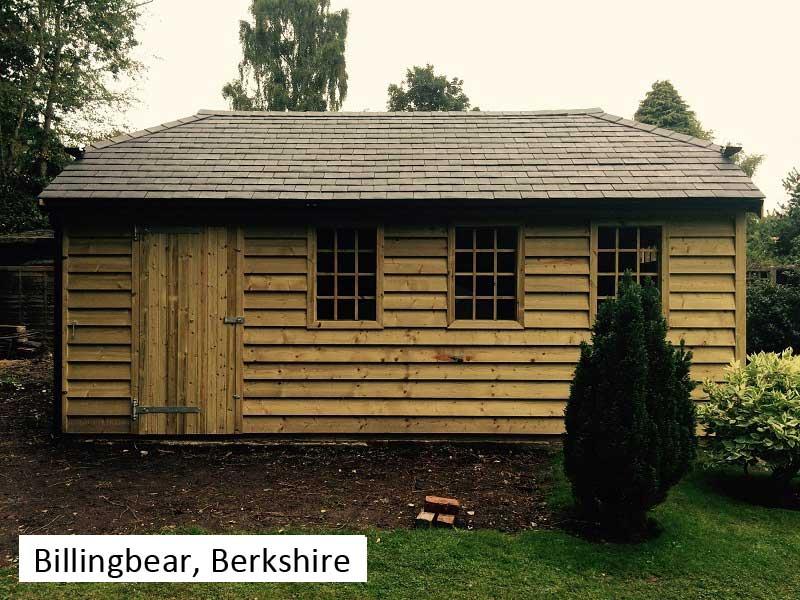 Traditional Garage In Billingbear, Berkshire