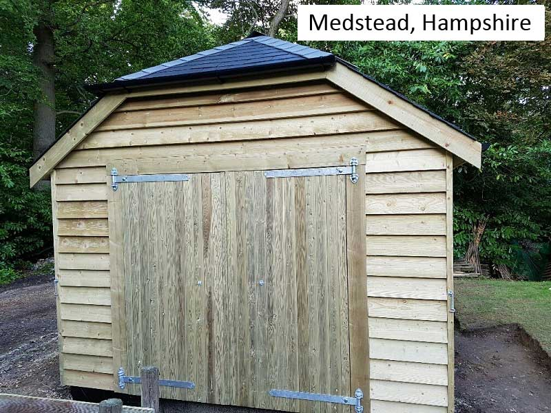 Traditional Garage In Medstead, Hampshire