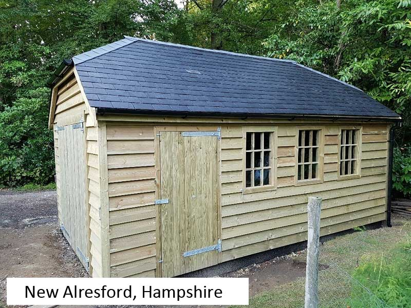 Traditional Garage In New Alresford, Hampshire