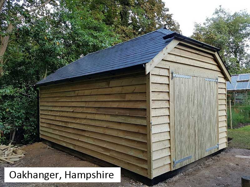 Traditional Garage In Oakhanger, Hampshire