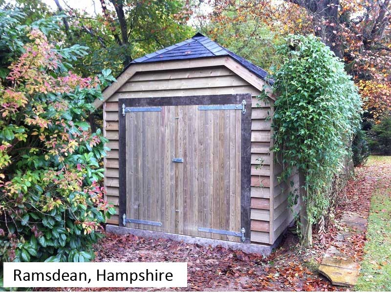 Traditional Garage In Ramsdean, Hampshire