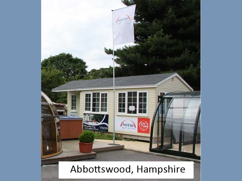 garden offices in hampshire