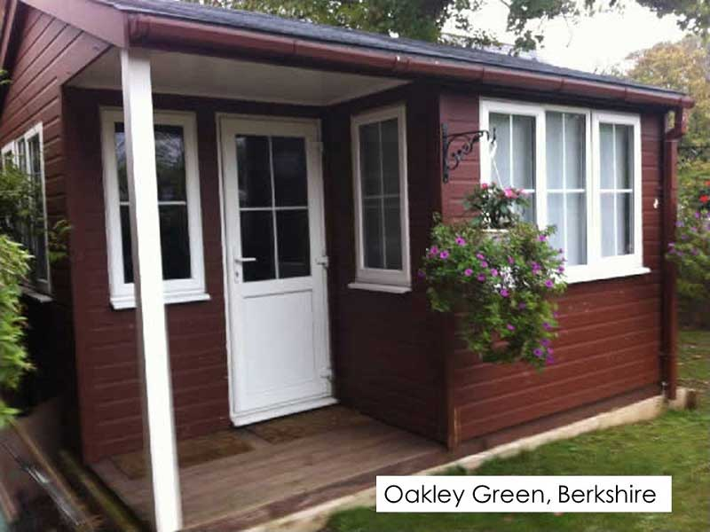 Garden Office in Oakley Green, Berkshire
