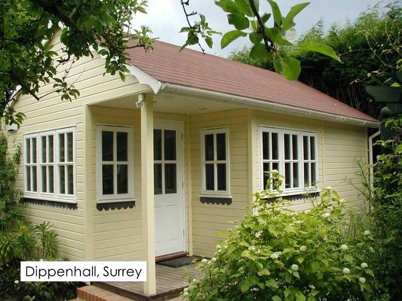 Garden Room in Dippenhall, Surrey