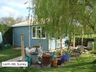 Case study of a garden room we built in Leith Hill, Surrey
