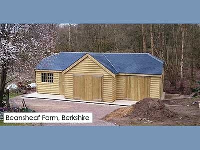 garden building berkshire