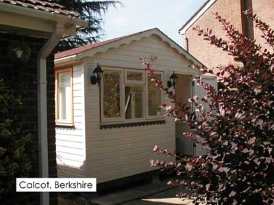 Garden Office berkshire - Phoenix Timber Buildings