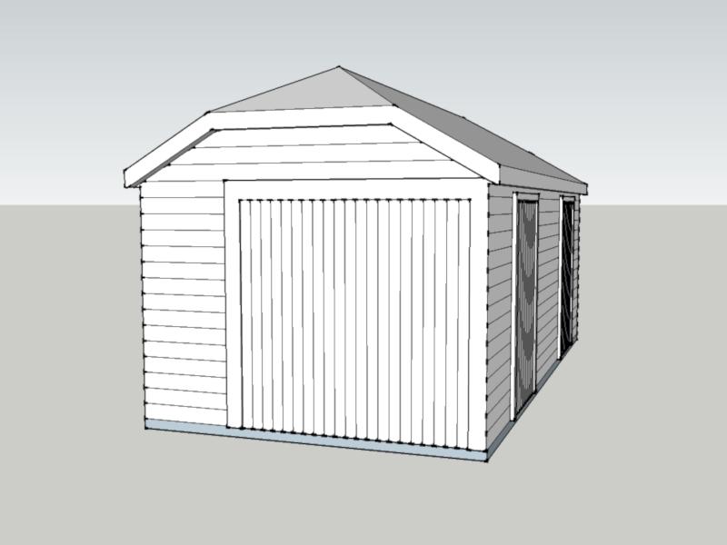 Traditional Garage In Bisham, Berkshire