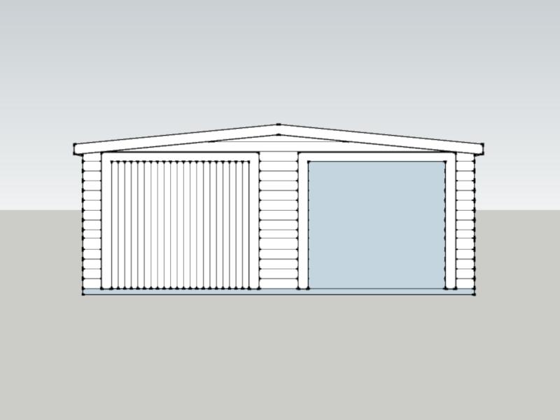 Traditional Garage in Westbrook, Berkshire