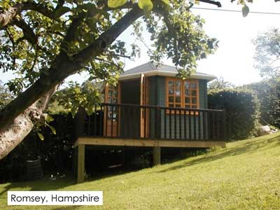 Build your garden studio in Romsey, Hampsphire