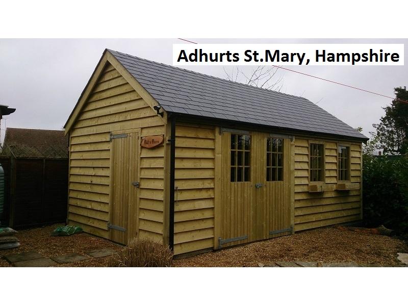Adhurts St Mary, Hampshire (trad)