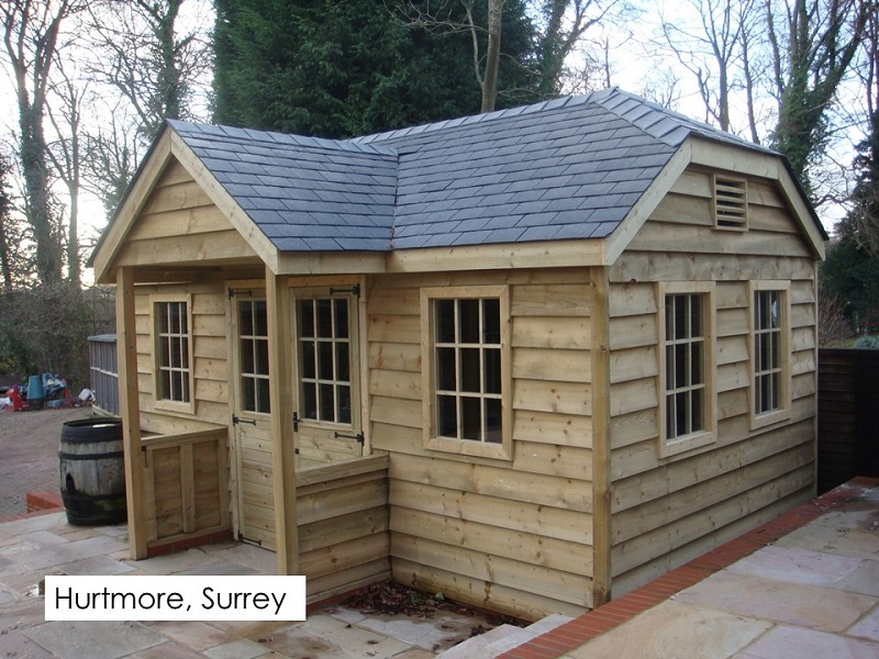Premium Timber Workshop in Hurtmore, Surrey
