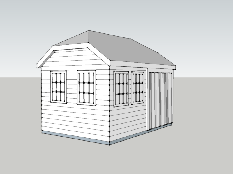 Traditional Garage In Pamber End, Hampshire