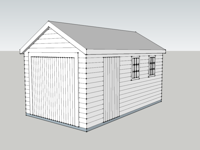 Traditional Garage In Pamber Heath, Hampshire
