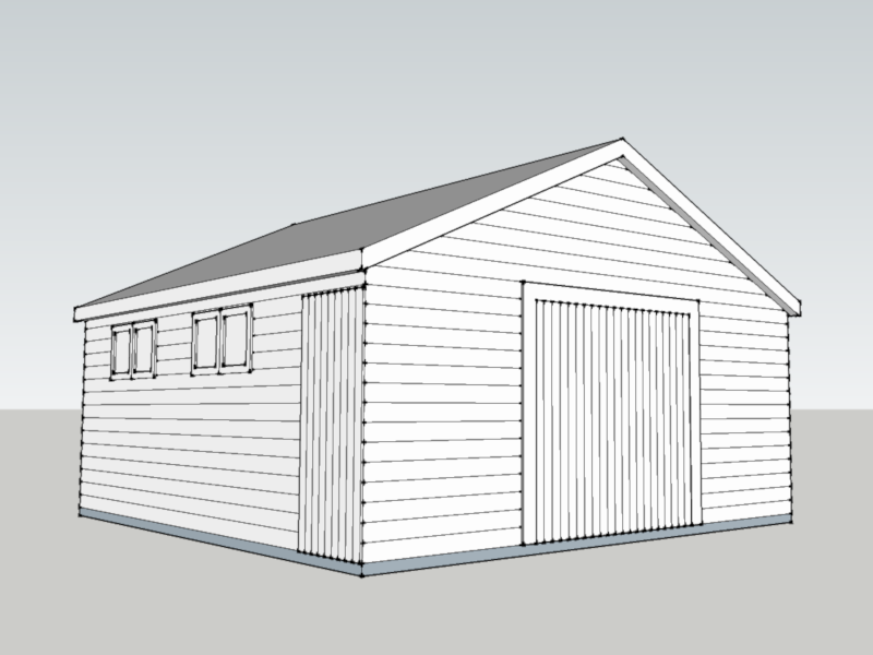 Traditional Garage In Port Solent, Hampshire