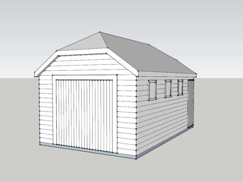 Traditional Garage in Southsea, Hampshire