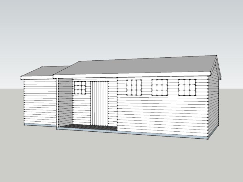 Premium Timber Workshop in Axford, Wiltshire