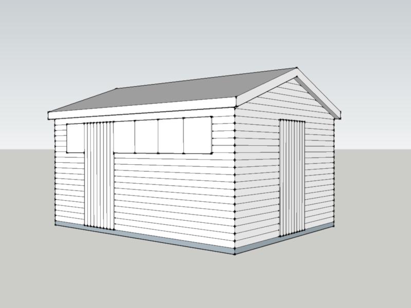 Premium Timber Workshop in Easton Grey, Wiltshire