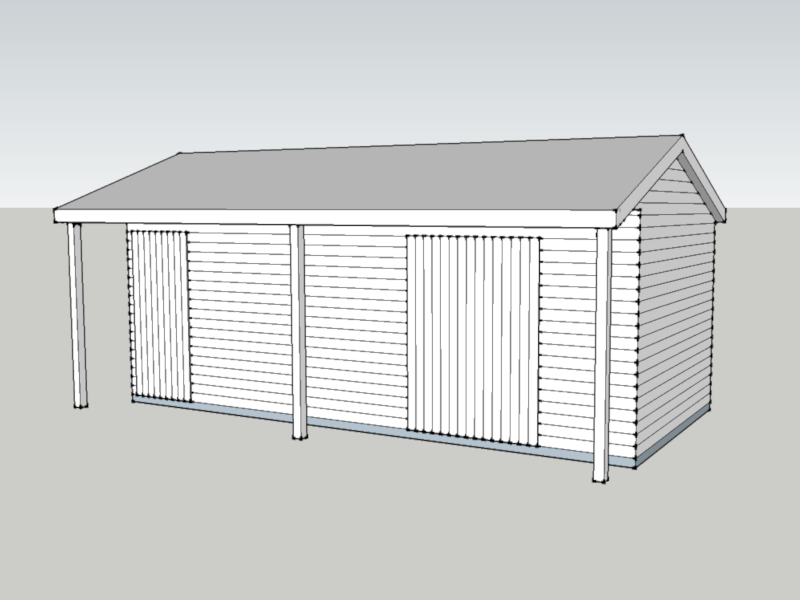 Premium Timber Workshop in Worplesdon, Surrey
