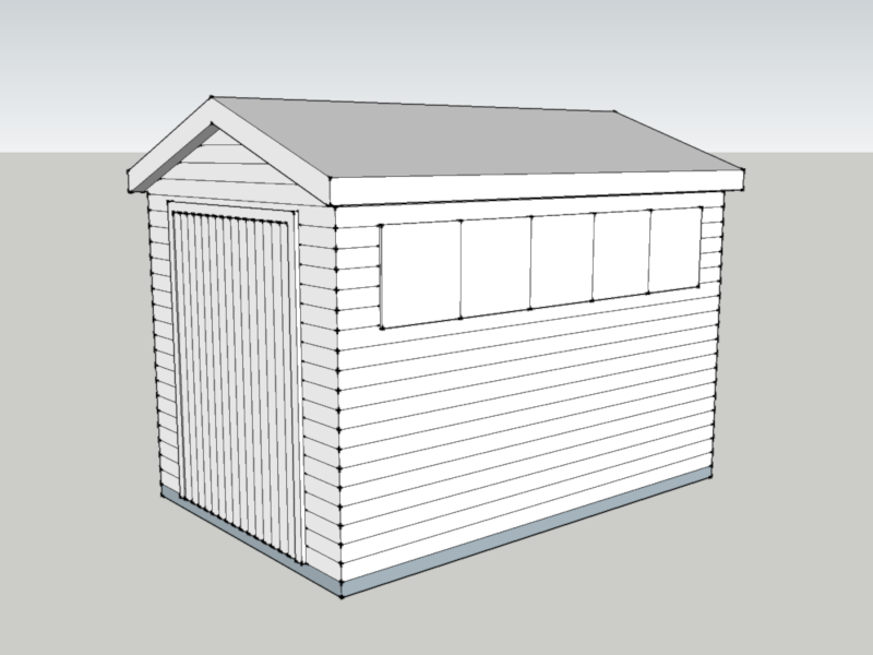 Timber Workshop in Oxted, Surrey