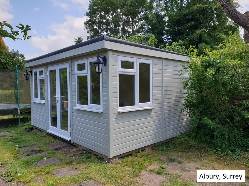Garden Pod In Albury, Surrey