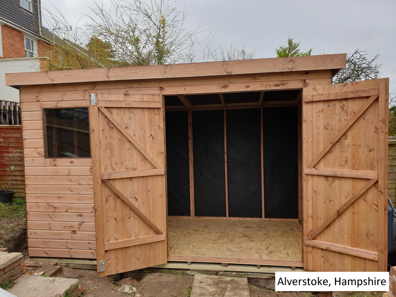 Timber Workshop In Alverstoke, Hampshire