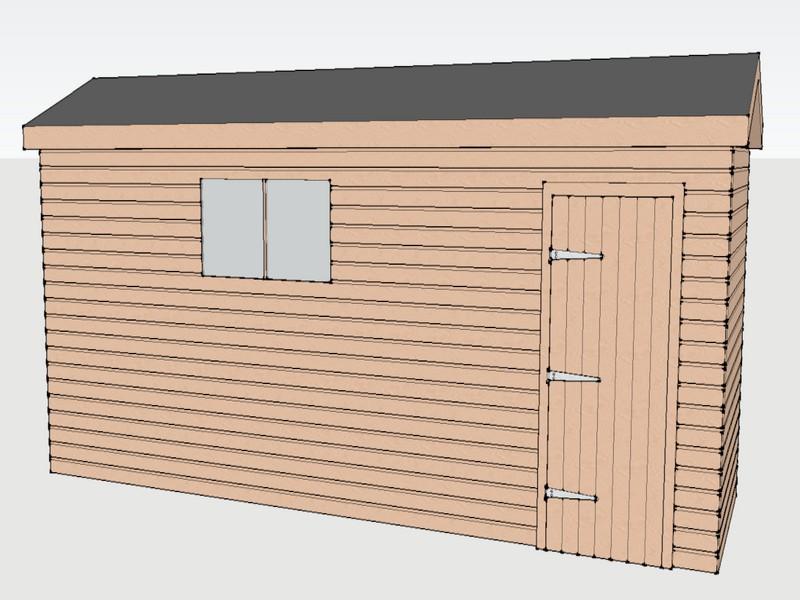 Premium Timber Workshop In Brightwalton, Berkshire