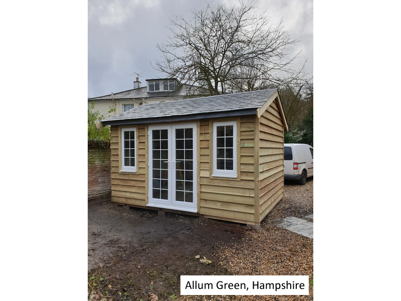 Garden Office in Allum Green, Hampshire