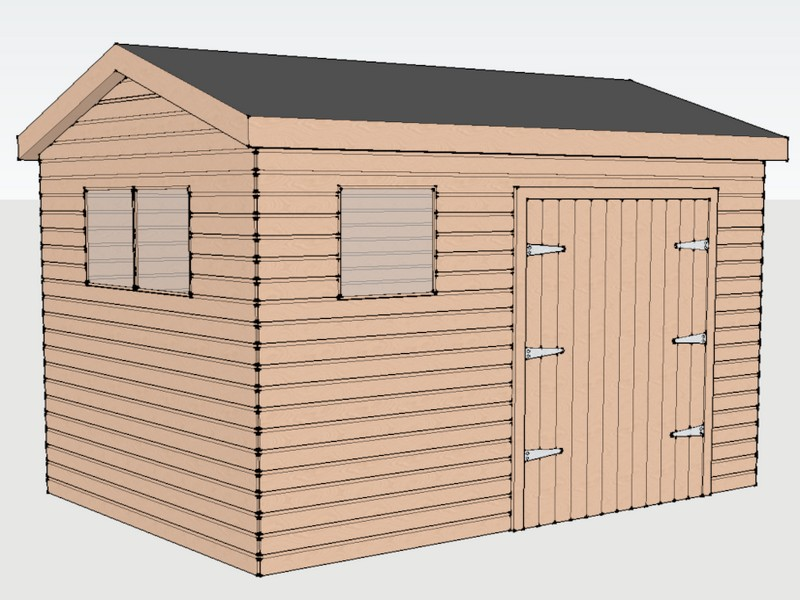 Premium Timber Workshop in Amport, Surrey