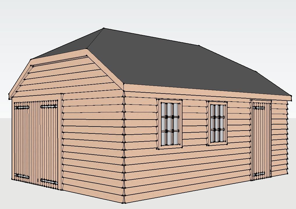 Traditional Garage in Ash, Surrey