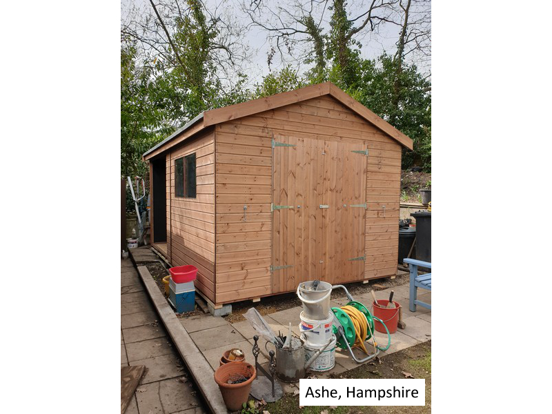 Timber Workshop in Ashe, Hampshire
