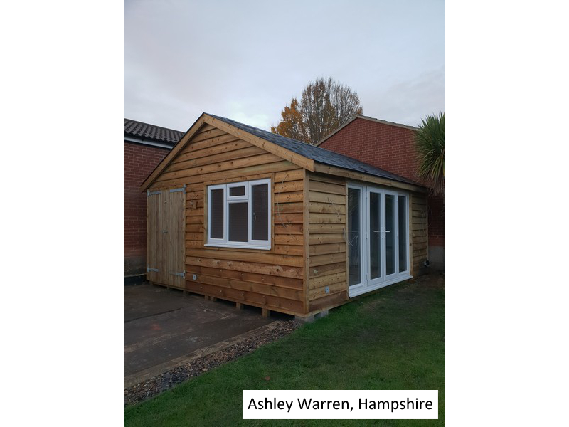Garden Room in Ashley Warren, Hampshire