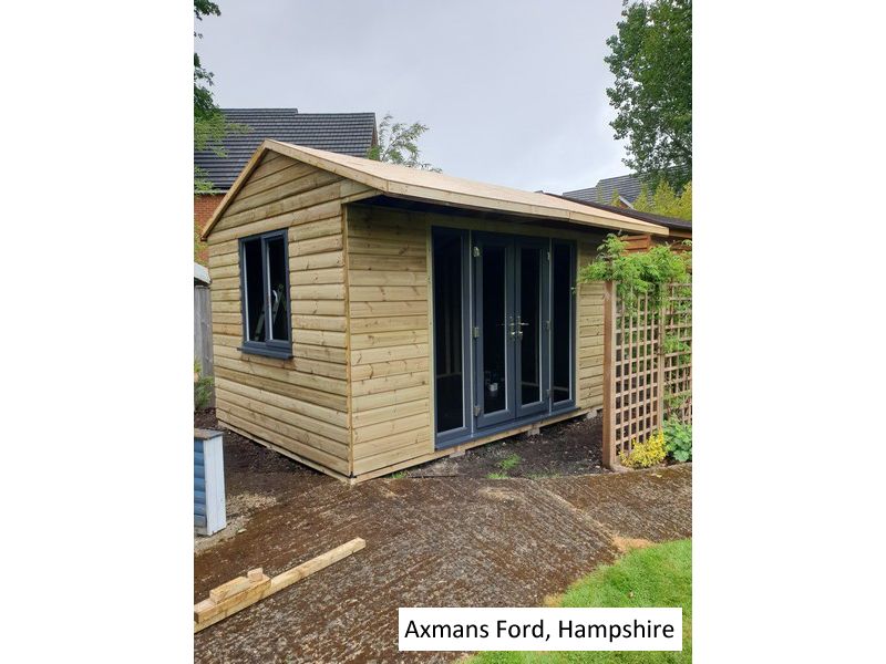 Garden Studio In Axmansford, Hampshire