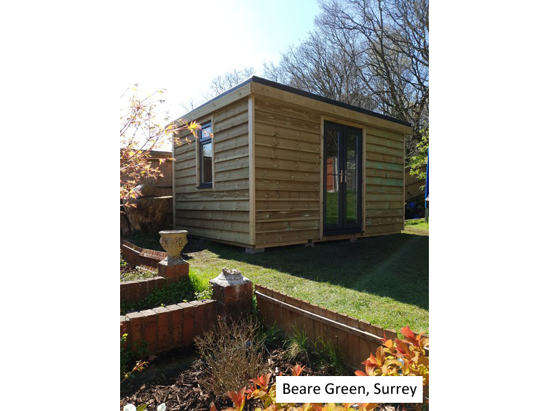 Garden Pod In Beare Green, Surrey