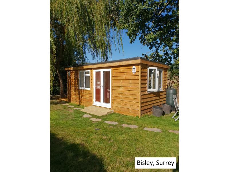 Garden Pod In Bisley, Surrey