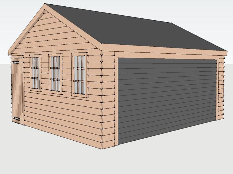 Traditional Garage in Charvil, Berkshire