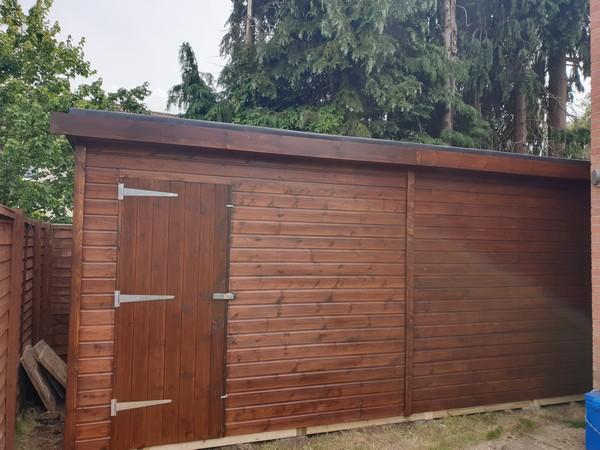 Premium Workshop with Pod Roof in Burpham, Surrey