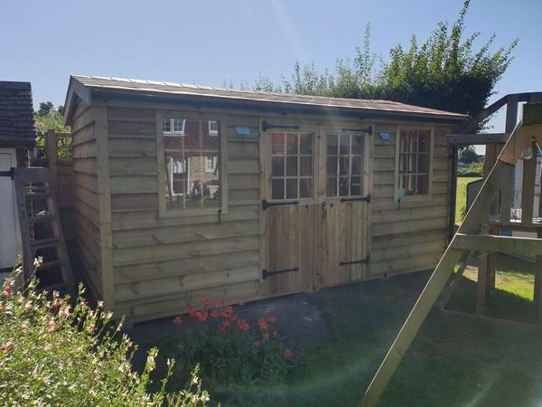 Premium Timber Workshop In Busbridge, Surrey